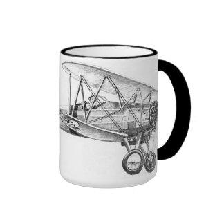 Bi-Plane Ringer Mug