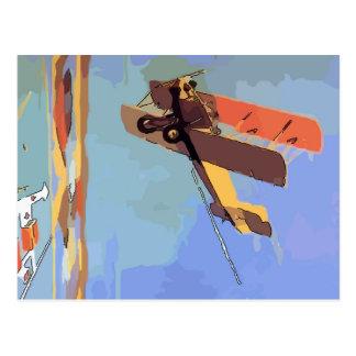 Bi Plane Vintage Postcards