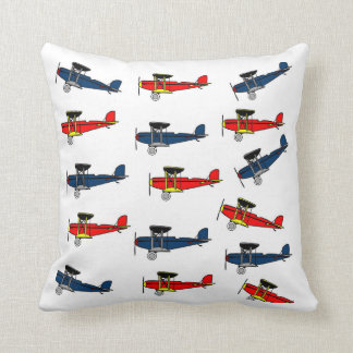 bi planes pillow