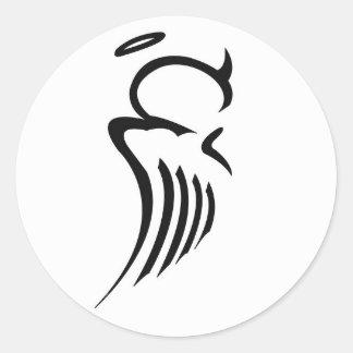 Bi-Polar Angel Sticker