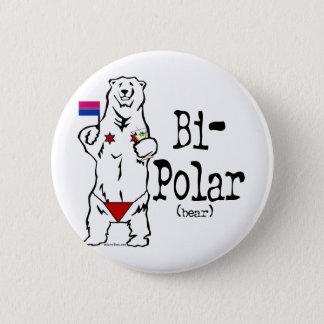 Bi-Polar Bear Button