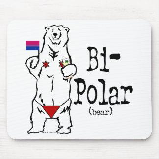Bi-Polar Bear Mouse Pad