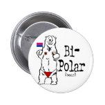 Bi-Polar Bear Pinback Button