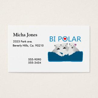Bi Polar Bears Business Card