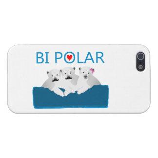 Bi Polar Bears Case For iPhone SE/5/5s
