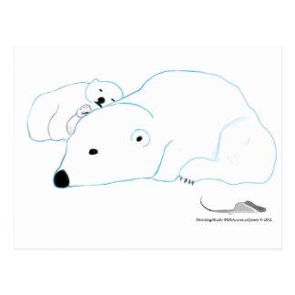 Bi-Polar by artJones Postcard