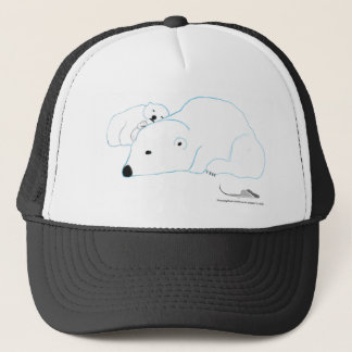 Bi-Polar by artJones Trucker Hat