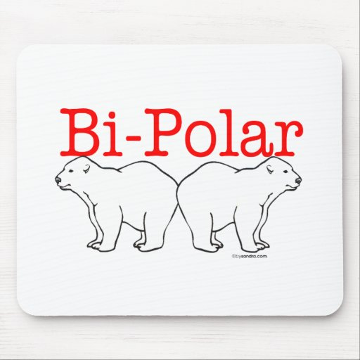Bi-Polar Mouse Pad