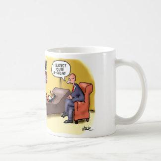 Bi-Polar Penguin coffee mug