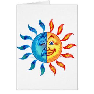Bi Polar Solar Card
