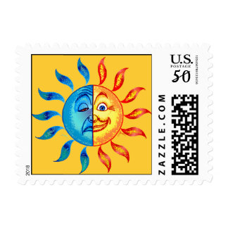 Bi Polar Solar Good Day Postage