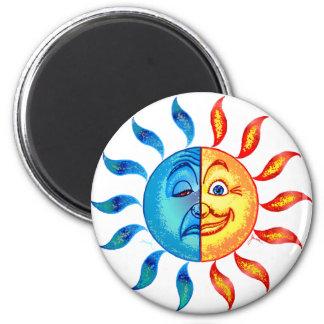 Bi Polar Solar 2 Inch Round Magnet
