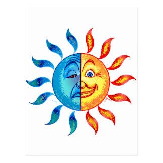 Bi Polar Solar Postcard