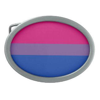 Bi pride belt buckle