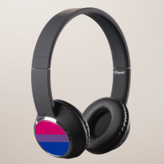 Bi Pride Flag Headphones
