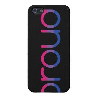 """Bi Pride Flag iPhone 4/4S case (""""Proud"""")"""