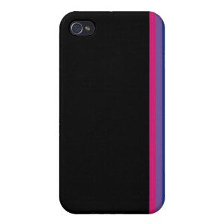 Bi Pride Flag iPhone 4/4S case (vertical stripe)