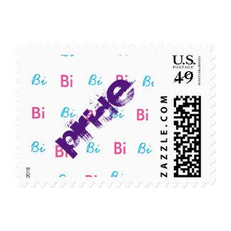 Bi Pride Stamps