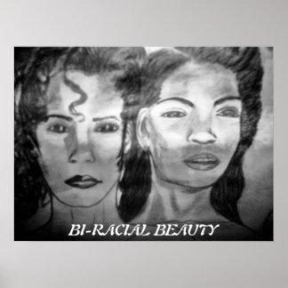 BI-RACIAL BEAUTY poster