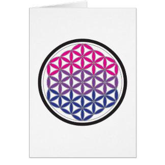 bi sacred geometry card