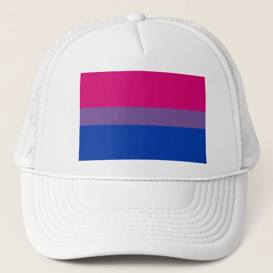 Bi-Sexual Pride Flag Trucker Hat