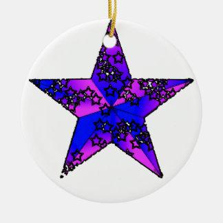 Bi Star Ceramic Ornament