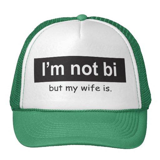 Bi Wife Trucker Trucker Hat