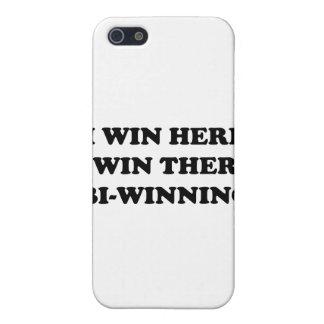 BI-WINNING I Win Here I Win There iPhone 5 Cover