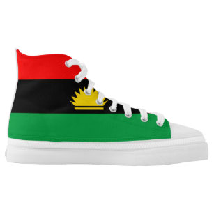 Biafra gifts on zazzle biafra flag ethnic symbol high top sneakers thecheapjerseys Image collections