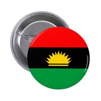 Biafra republic minority people ethnic flag button