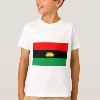 Biafra republic minority people ethnic flag T-Shirt