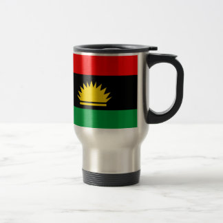 Biafra republic minority people ethnic flag travel mug