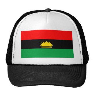 Biafra republic minority people ethnic flag trucker hat