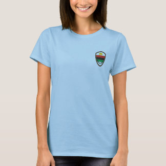 Biafran Gear Logo Left T-Shirt