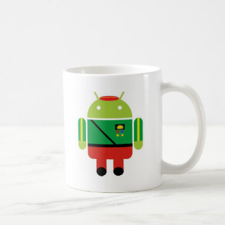 Biafran Sun Droid Coffee Mugs