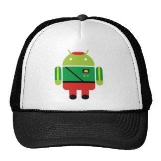 Biafran Sun Droid Trucker Hat