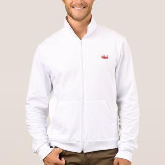 Biala bluza z polska flaga i orzelkiem na plecach t shirt