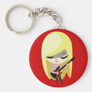 Biana The Blonde Bassist Keychain