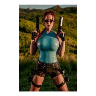 Bianca Beauchamp Latex Cosplay Posters
