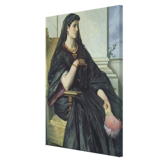 Bianca Capello, 1864/68 Gallery Wrap Canvas