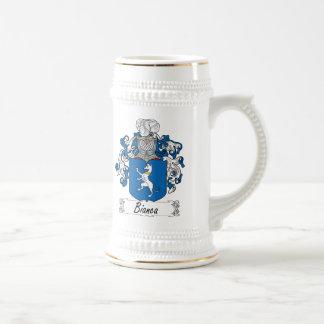 Bianca Family Crest Beer Stein