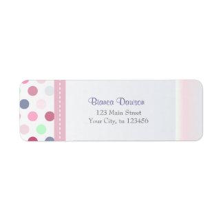 Bianca Return Adress Labels