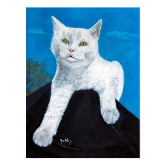 Bianca the Cat Postcard