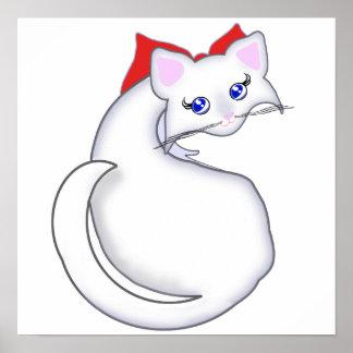 Bianca Toon Kitty Print