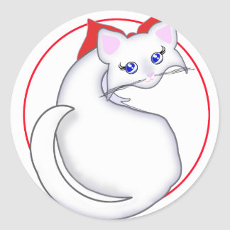 Bianca Toon Kitty Simple Sticker