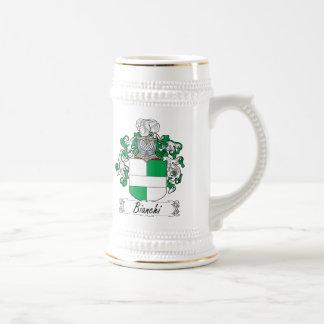 Bianchi Family Crest Beer Stein