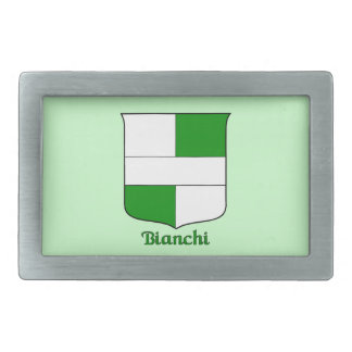 Bianchi Historical Shield Belt Buckle