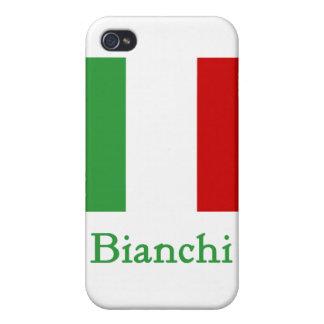 Bianchi Italian Flag iPhone 4/4S Case