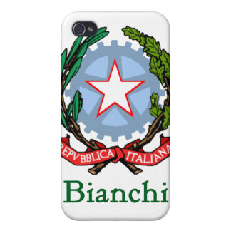 Bianchi Italian National Seal iPhone 4 Covers