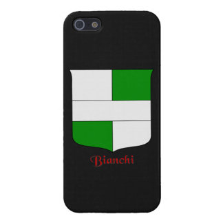 Bianchi Italian Surname Historical Shield Cover For iPhone SE/5/5s